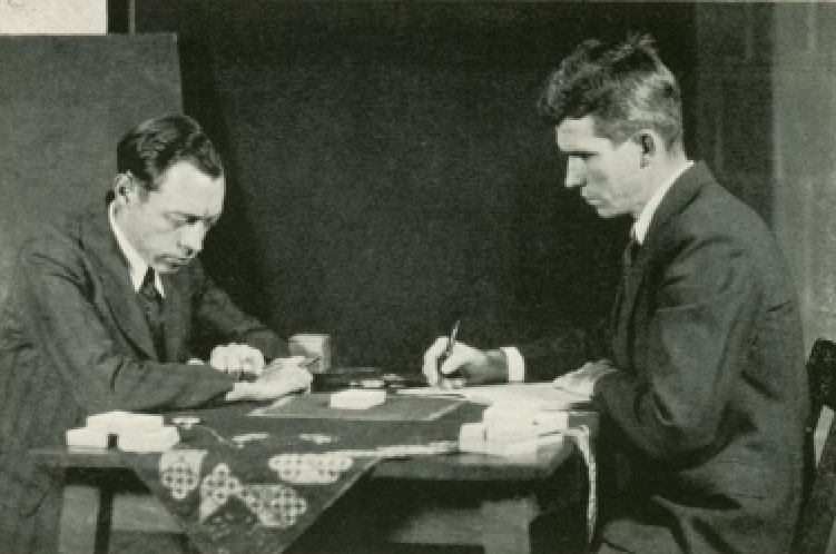Hubert_Pearce_with_J._B._Rhine.png